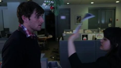 Mistletoe in the Office can be Really Confusing/Awesome (SRSLY, It's the Holidays)