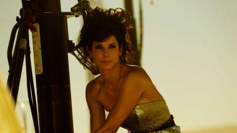 Sandra Bullock Braves the Elements for Her October 2013 Cover Shoot
