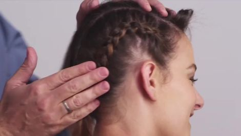 Braided Undercut