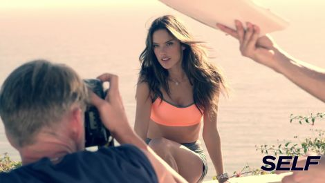Go Behind the Scenes at Alessandra Ambrosio's Cover Shoot!