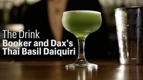 Watch Dave Arnold Make the Thai Basil Daiquiri