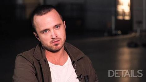 Aaron Paul: Behind the Scenes of his Details Cover Shoot