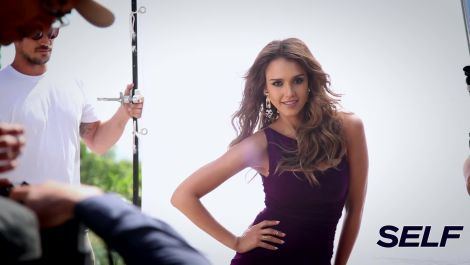 Go Behind the Scenes with Jessica Alba's Cover Shoot