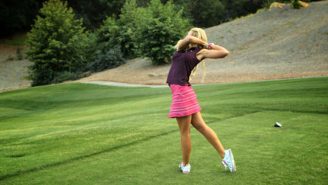 Blair O'Neal Shows You How to Hit Your Golf Ball Inside Your Opponent's