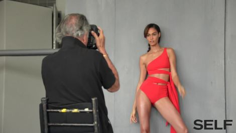 Go Behind the Scenes With Joan Smalls for Her Cover Shoot