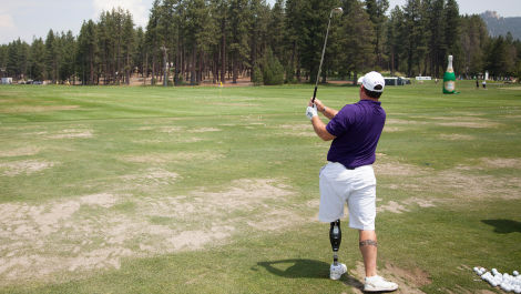 How One Man Went from Iraq War Amputee to Golf Champion