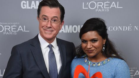 Mindy Kaling and Stephen Colbert on Why They're Each Other's Biggest Fans