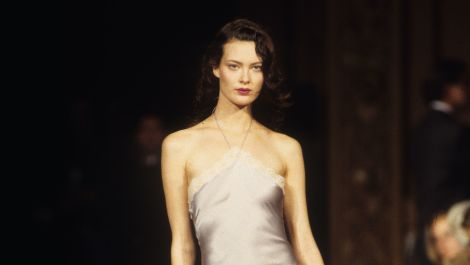 Shalom Harlow: Made for Haute Couture