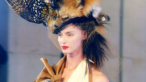 John Galliano's Fall 1999 Dior Haute Couture Collection