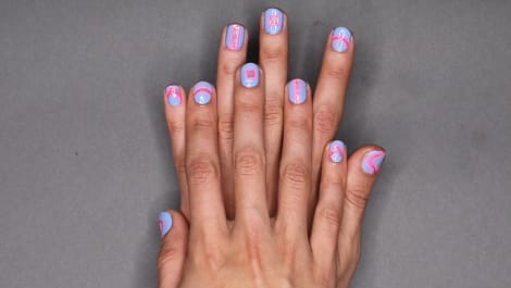 The Hottest Nail Trend: Negative Space