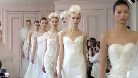 Oscar de la Renta's Spring 2016 Bridal Runway Show
