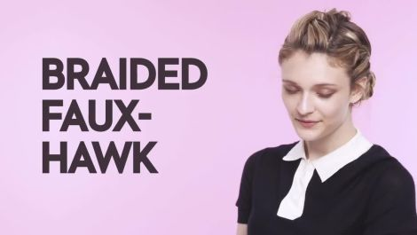 Braids With Friends: Braided Faux-Hawk