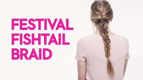 Braids With Friends: Festival Fishtail Braid