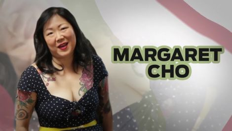 "Comedian Margaret Cho Interviews Herself as ""Her Mother"" The Golfer"