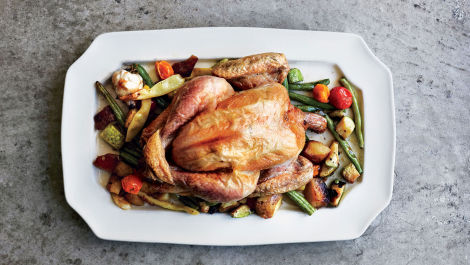 How to Roast a Chicken Directly on Your Oven Rack