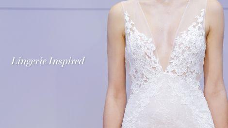 Fall 2016 Wedding Dress Trend: Lingerie Inspired
