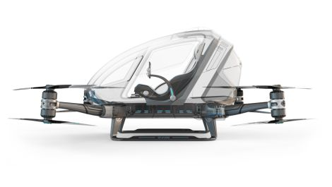 CES 2016 - Autonomous Drone That Seats One Is a Special Kind of Crazy