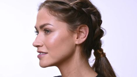 Double Dutch Ponytail Tutorial