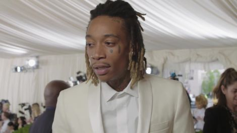 """Wiz Khalifa on Creativity: """"Being as Innocent as Possible"""" at Met Gala 2016"""