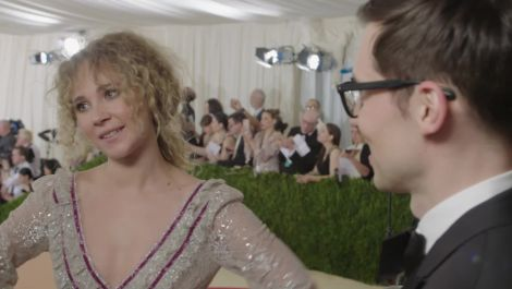 Vinyl's Juno Temple on Looking Like a Pre-Raphaelite Stevie Nicks at Met Gala 2016