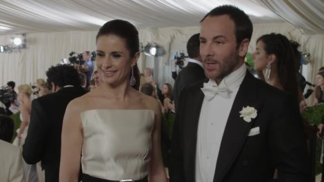 Tom Ford on His Guilty Pleasure at Met Gala 2016