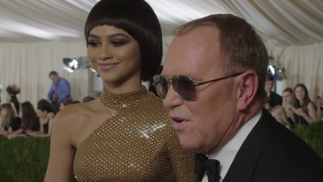 Zendaya and Michael Kors on Serving Robot Realness at Met Gala 2016