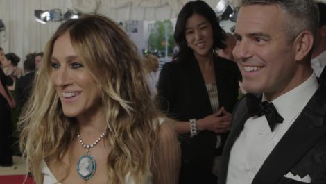 Sarah Jessica Parker and Andy Cohen on Creativity at Met Gala 2016