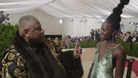 Lupita Nyong'o on Her Matrix and Nina Simone-Inspired Look