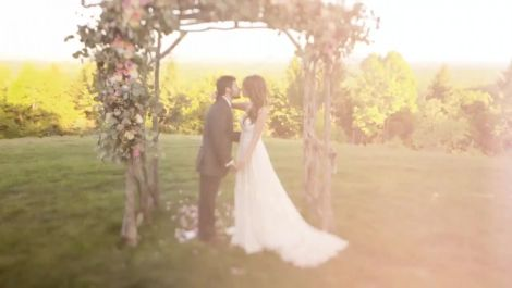 A Spring Wedding at a Rustic Estate in Port Jervis, New York