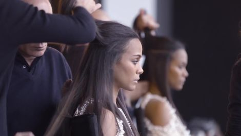 Go Behind The Scenes of Zoe Saldana's Cover Shoot