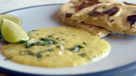 How to Make Everyday Yellow Dal and Naan