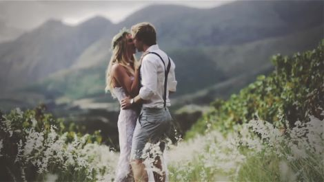 A Beautiful Spring Wedding on a Charming South African Winery