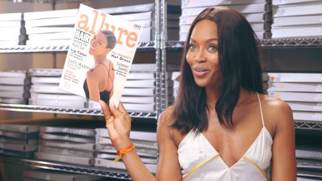 Throwback to Naomi Campbell's First Allure Cover in 1993