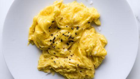 Perfect Soft Scrambled Eggs