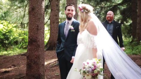 A Woodland Wedding in Portland, Oregon