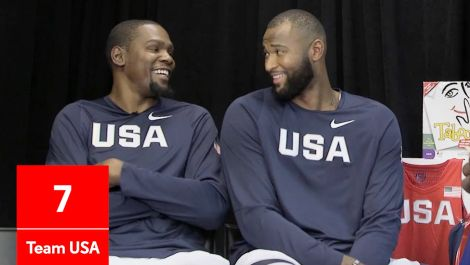 Olympic Taboo with Team USA's Kyrie Irving, Kevin Durant, and DeMarcus Cousins
