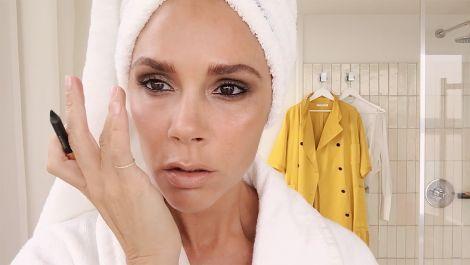 Victoria Beckham's Five-Minute Face