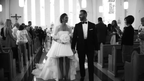 An Ultra-Chic Couple's Glamorous Wedding in Toronto