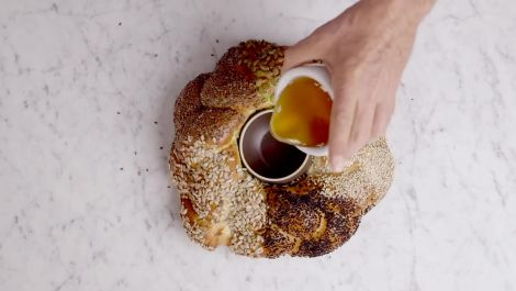 Check Out This NYC Baker's Pro Challah Braiding Skills