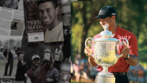 The Evolution Of Tiger Woods: Golf Digest Archives