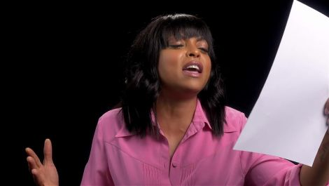 "Taraji P. Henson Gets Down to ""I Will Survive"" — With a Few Embellishments"