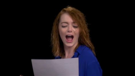 "Emma Stone Proves Her Vocal Chops with ""I Will Survive"""