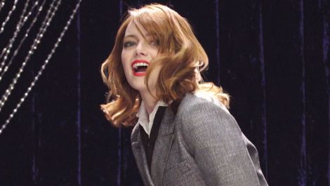 Emma Stone Teaches You How to Pogo Stick