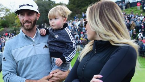 Dustin Johnson & Paulina Gretzky make big news in L.A.