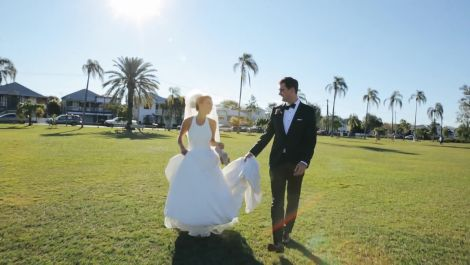 An Amazing Australian Wedding