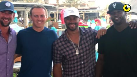 Jordan Spieth's legendary Cabo crew
