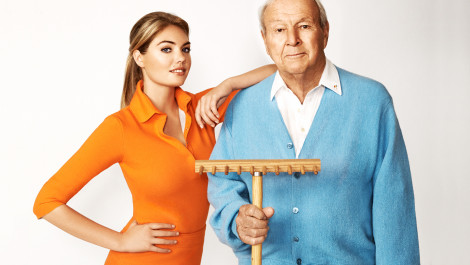 Behind the Scenes with Arnie & Kate Upton