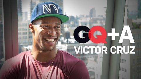 GQ+A with Victor Cruz