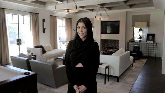 Inside Kourtney Kardashian's Home for Her AD Cover Shoot