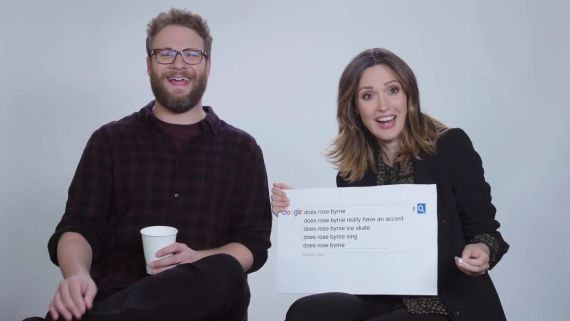 Seth Rogen & Rose Byrne Answer The Web's Most Searched Questions